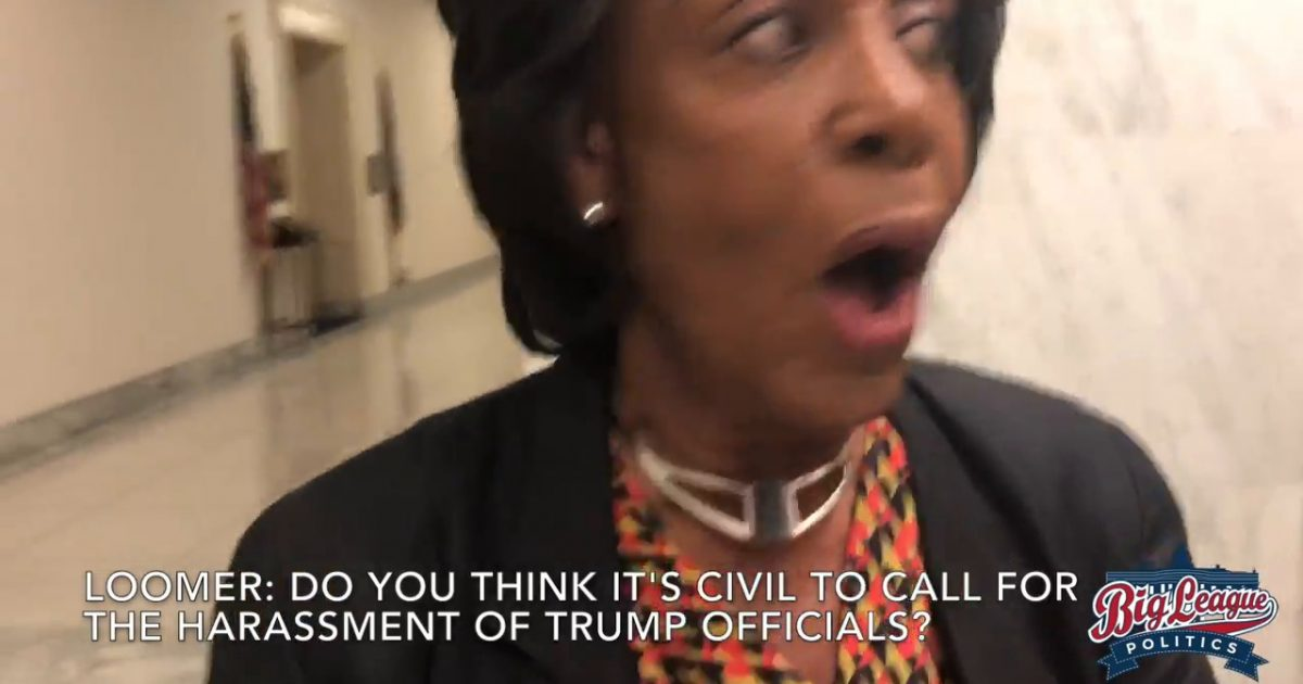 WATCH: Laura Loomer Confronts Maxine Waters - Big League Politics