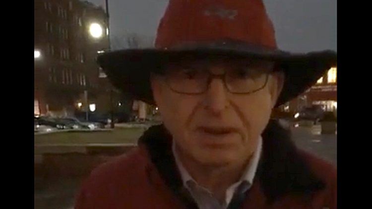 Protect Mueller Protester Confused