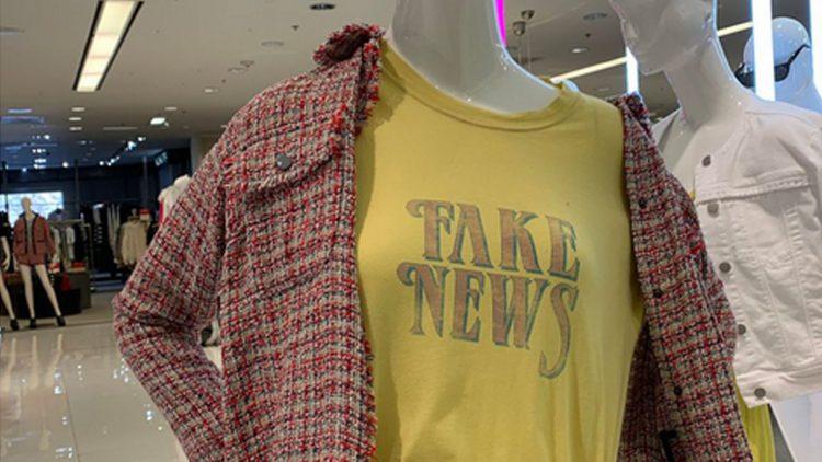Bloomingdales Fake News Shirt