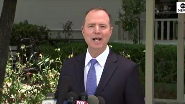 Schiff Collusion Trump Unpatriotic