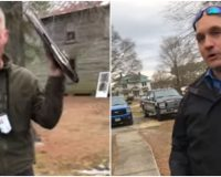 WATCH: Armed Thugs Drive 100 Miles to Harass a Patriot at His Home Because He Visited Virginia Capitol